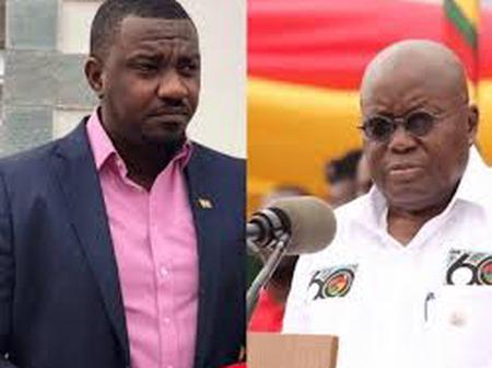 John Dumelo Sends Another Pleasant Message To Ghana