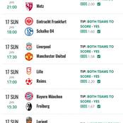 Sure Bets that you are Assured of Winning to Stake On today