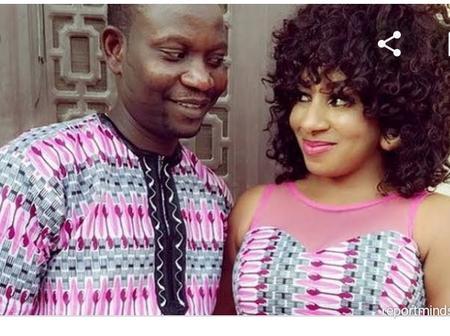 Afeez Owo Celebrates His Wife Mide Martins On Her Birthday
