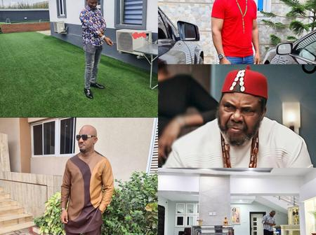 Nigerian Actor Peter Edochie Son Yul Edochie Puts His House On Display: Check It Out