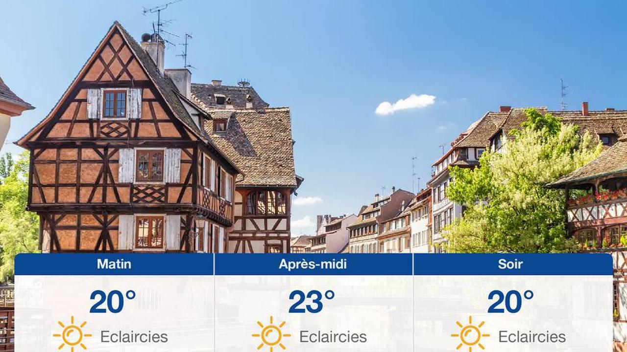 Météo Strasbourg: Prévisions du mardi 27 juillet 2021