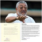 Anlo Traditional Council 'Fights' Government Over Date For Late Rawlings' Funeral
