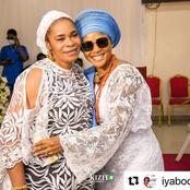 After Her Mother's Demise, Iyabo Ojo Reveals Her New Mum