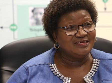 Former Health MEC Sindiswa Gomba was fired for alleged money fraud around Tata Mandela's funeral