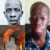 Throwback to when man risked his life to save that of two kids in a burning shack