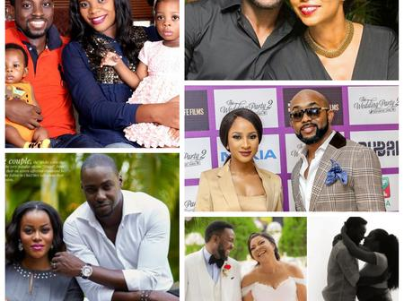 Check out 5 couples produced by Nollywood movies.