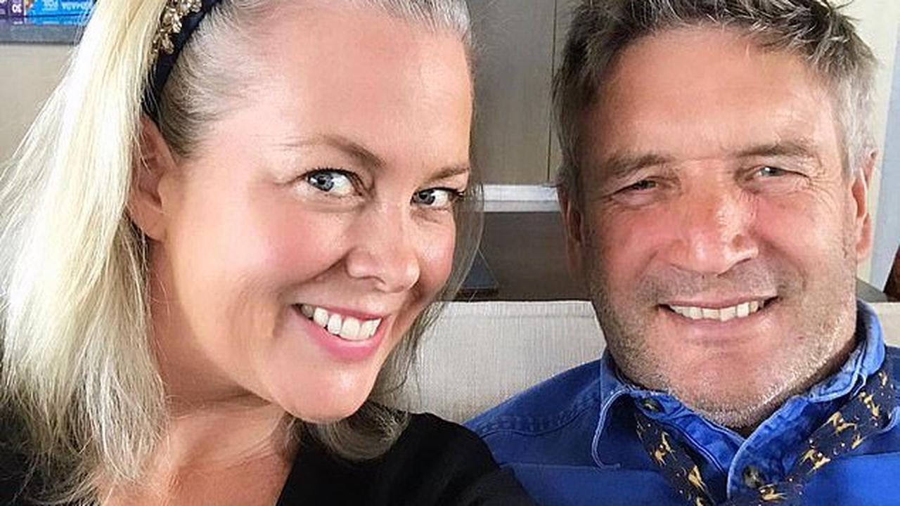 Sam Armytage is left speechless by Kyle Sandilands' crude sex question - as she discusses her new country life with husband Richard Lavender