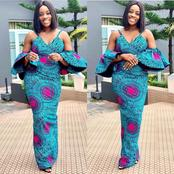 Stylish Ankara design you can try out this season