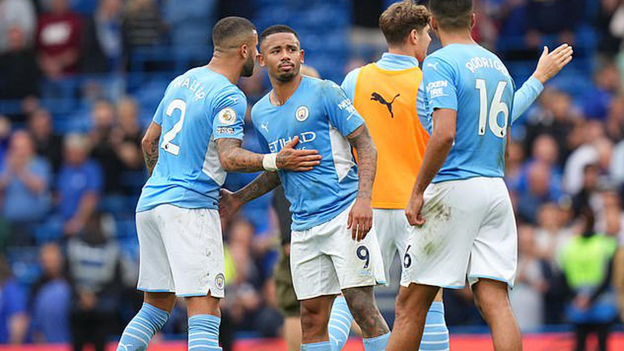 DANNY MURPHY: Man City have superstars but they aren't afraid of hard graft... Pep Guardiola's side laid down a marker in the title race at Chelsea, but they still need a striker