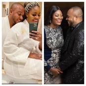 Romantic Photos Of Actress Chizzy Alichi And Her Husband.