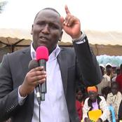 Aaron Cheruiyot breathes Fire as he Unmasks Deep State Dirty Tricks Ahead of 2022
