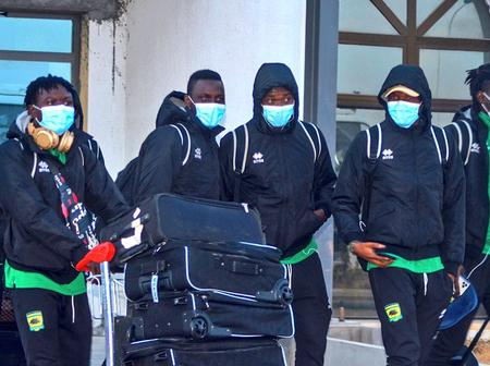 Here we come - Asante Kotoko arrives at Algeria for the Es Setif game
