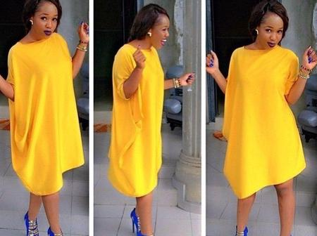 Trending Mini-Sleeves Gowns Ladies Can Slay To Any Event Or Occasion