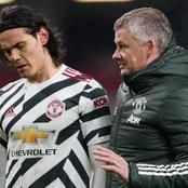 Heartbreak For Manchester United as Edinson Cavani Turns Down Contract Extension - Reports