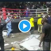 After Team Ogun Lost To Team Lagos At The Edo Sports Events, Watch How The Referee Was Beaten