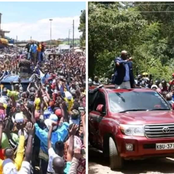 Comparison Between Ruto's Muranga Meeting And Gideon Moi's Baringo Meeting