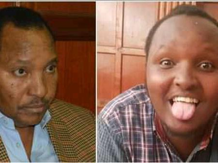 Good Samaritan Rescues Waititu's Son From Prison After Father Neglected him