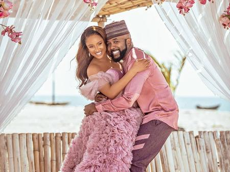 Adesua Etomi and Banky W announce the Birth of their First Child with Beautiful and Stylish Photos