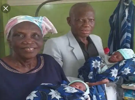 Remembering The Nigerian Woman Who Gave Birth To Twin At The Age Of 68