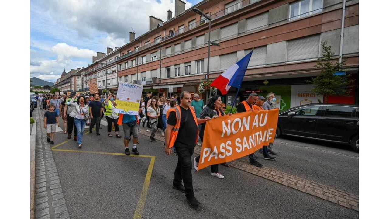 Vosges. Saint-Dié : environ 300 personnes ont manifesté contre le pass sanitaire