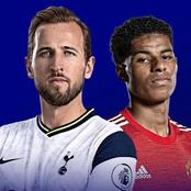 Combined XI of Tottenham and Manchester United players