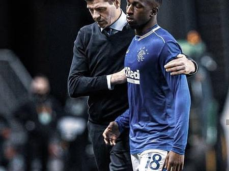 Glen Kamara: After He Was Racially Abused, See How His Teammates Are Supporting Him.
