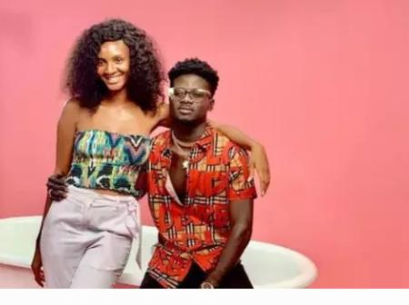 Beautiful photos of how Kuame Eugene and girlfriend celebrated the valentine day