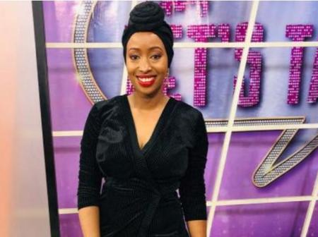 Janet Mbugua Makes A Come Back To TV