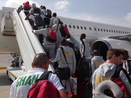 Black Stars To Leave Ghana For South Africa Tomorrow (Tuesday)