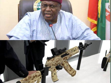 After Governor Ishaku Asked FG To Allow Nigerians Carry Licensed Guns, Check The Gun A Man Chose