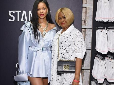 This Is Rihanna's Mother Monica Fenty If You Ever Wondered.