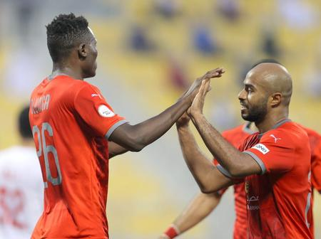 Different Reactions From Kenyan Fans After Olunga Scored Again For Al Duhail SC in Qatar