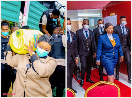 'Why The Bodyguards And Cameras' Rev. Lucy Natasha Bashed After Posting These Photos