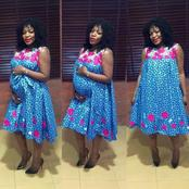 Check out 14 Ankara styles for Pregnant ladies. (Photos)