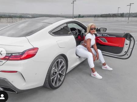 Muvhango actress flaunts her expensive car on a recent post, leaving fans amused.