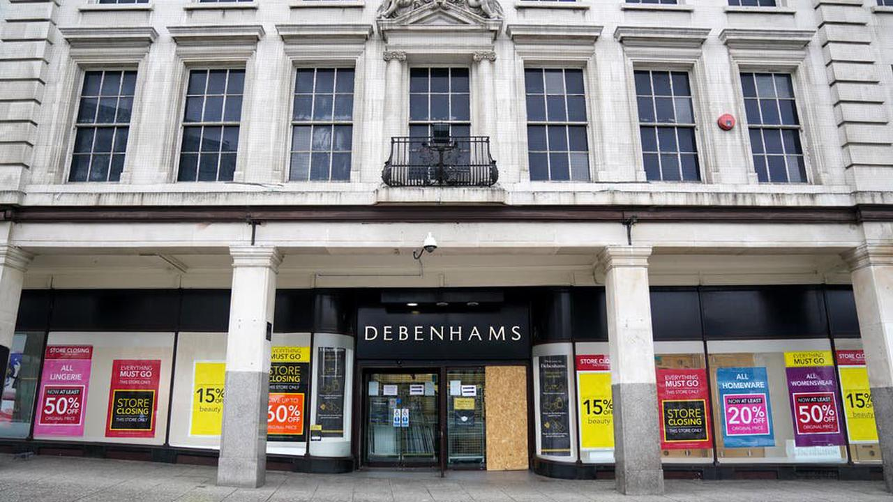 Debenhams lists 27 branches that will shut for good in May, as the chain's closing down sale continues