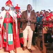 Netizen React To DP Ruto's Facebook Post in Gatanga Church