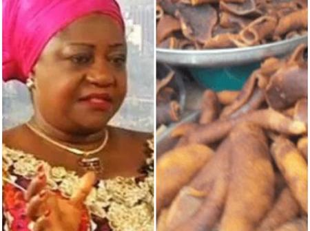 Check Out Lauretta Onochie's Reaction To The Arrest Of Those Who Smuggled Ponmo From Madagascar