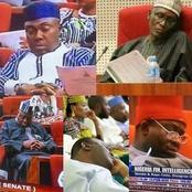If You Want To Laugh Today, See These Hilarious Photos Of Nigerian Politician Sleeping In Office