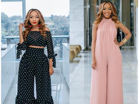Which look does Dintle from Scandal look best in? See more pictures.