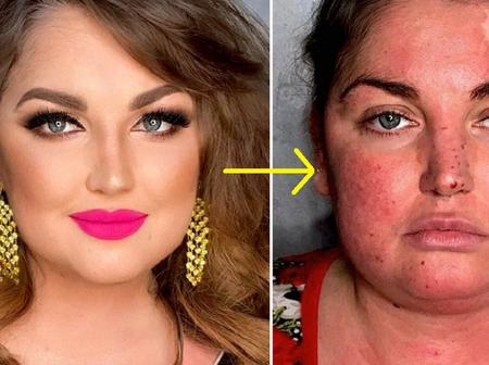 7 Images That Show The Lovely Effects Of Makeup