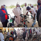 Young Man Construct Motorcycle In Katsina State