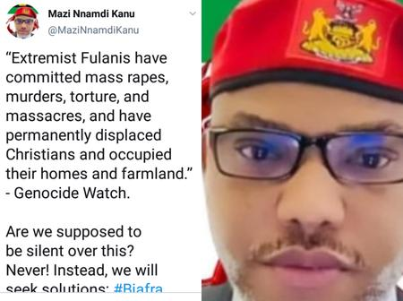 ''We Will Seek Solution, Biafra Solution'' - Nnamdi Kanu Sends Strong Message