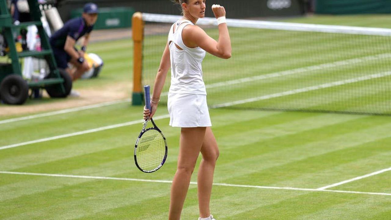 Karolina Pliskova stuns herself by reaching maiden Wimbledon final