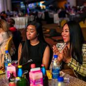 Checkout Nengi, Erica, Others Enjoying Themselves During Ay's Show