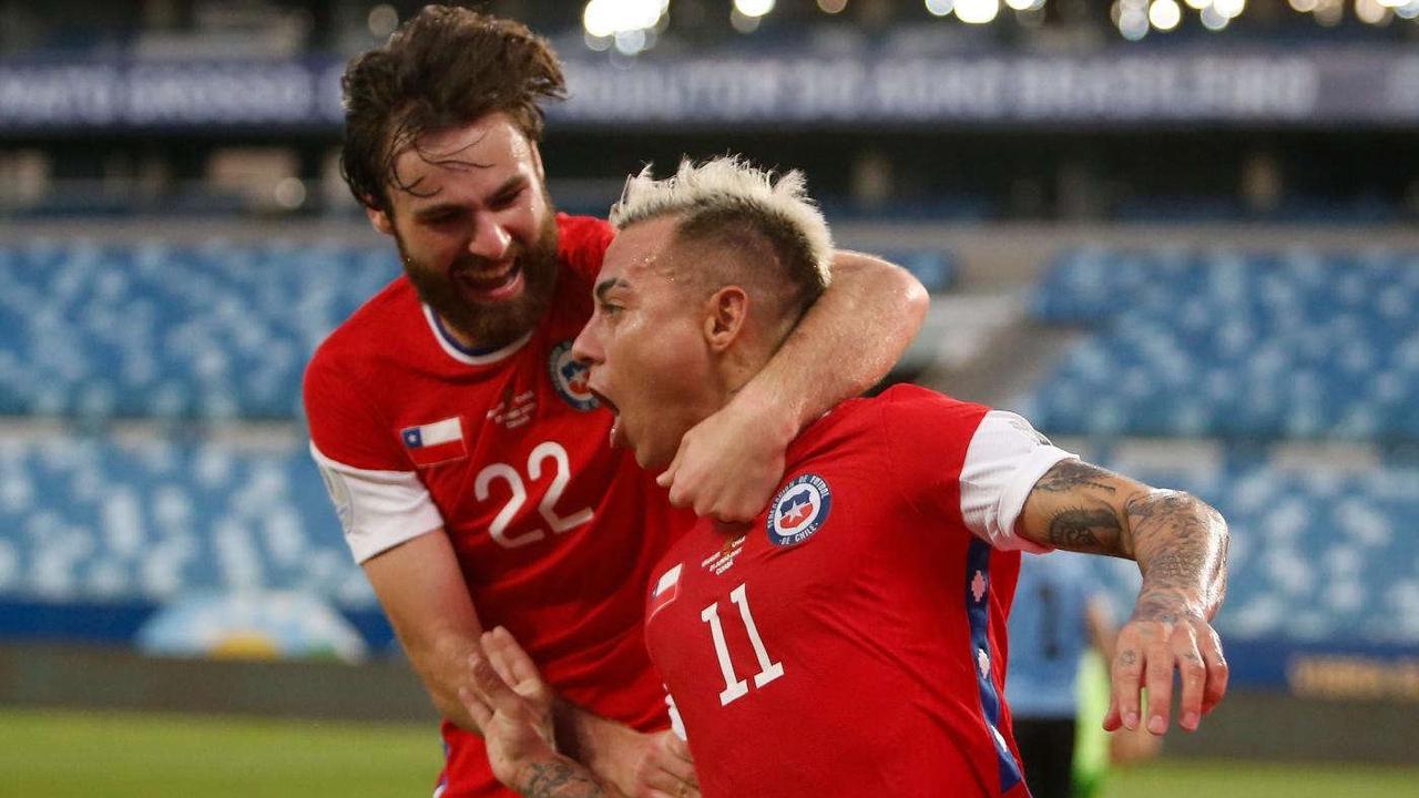 Uruguay vs. Chile score: Luis Suarez rescues points for Tabarez's crew to cancel out Eduardo Vargas opener