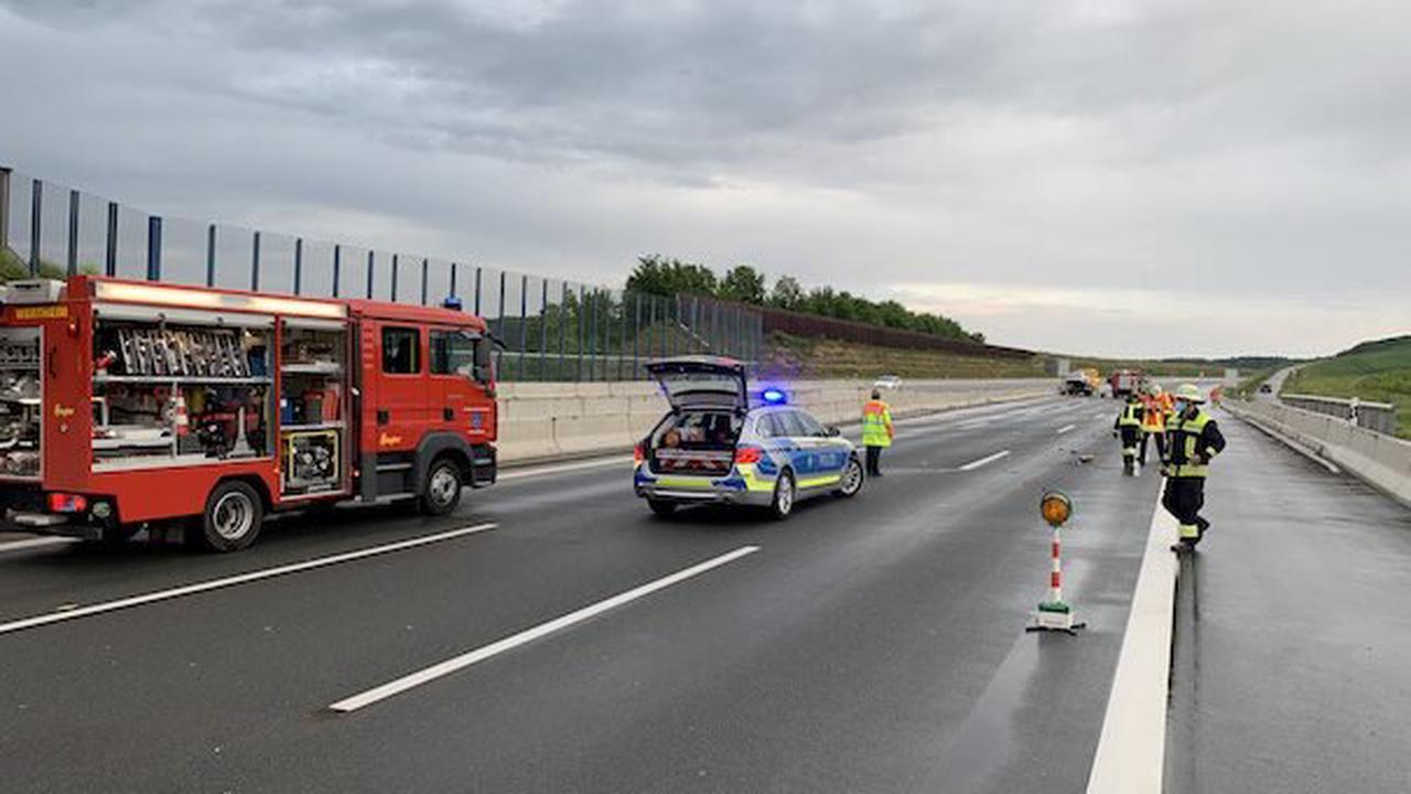 Feuerwehr Wertheim : Einsatz Nr. 054/2021 - THL, auslaufende Betriebsstoffe