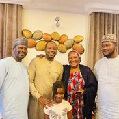 Few hours after he regained his freedom, Salihu Yakasai meets his family [Photos]
