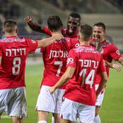 Siyanda Xulu features 90 minutes against Israel Ligat ha'Al giants.