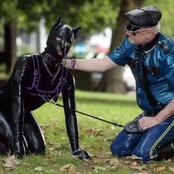 ما الذي تخفيه ظاهرة الكلاب البشرية المنتشرة بدول أوروبا ؟ .. وأسباب تقليد البشر للكلاب